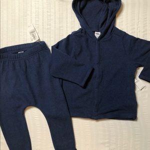 Old Navy Gender Neutral Soft Hoodie and Pants